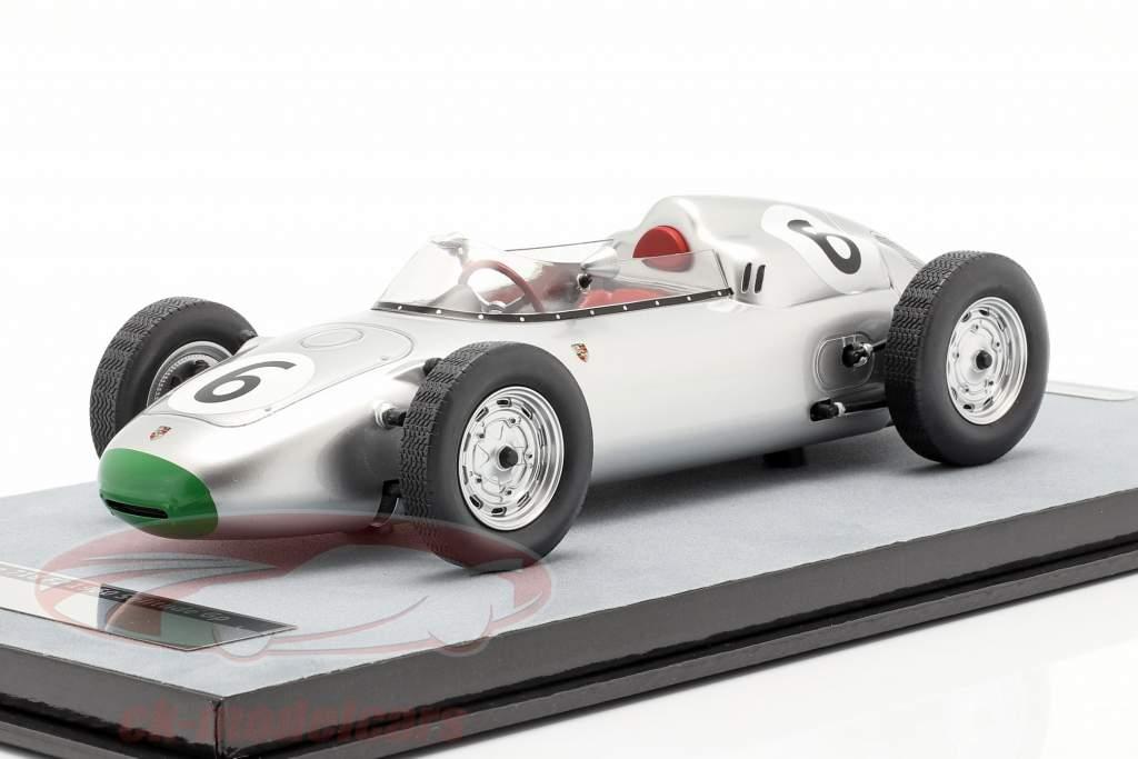 Graham Hill Porsche 718/2 #6 Cuarto Solitude GP fórmula 2 1960 1:18 Tecnomodel
