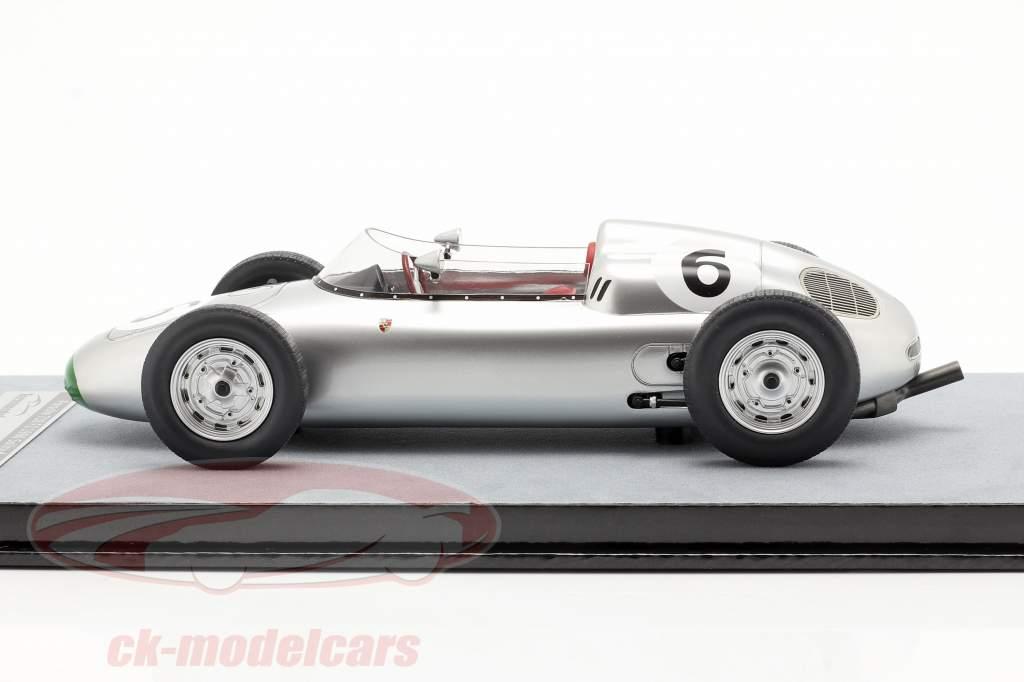 Graham Hill Porsche 718/2 #6 4e Solitude GP formule 2 1960 1:18 Tecnomodel