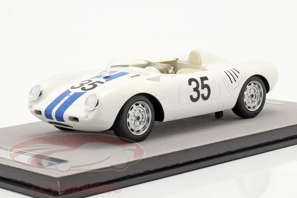 Porsche 550A RS #35 8. plads 24h LeMans 1957 Hugus, de Beaufort 1:18 Tecnomodel