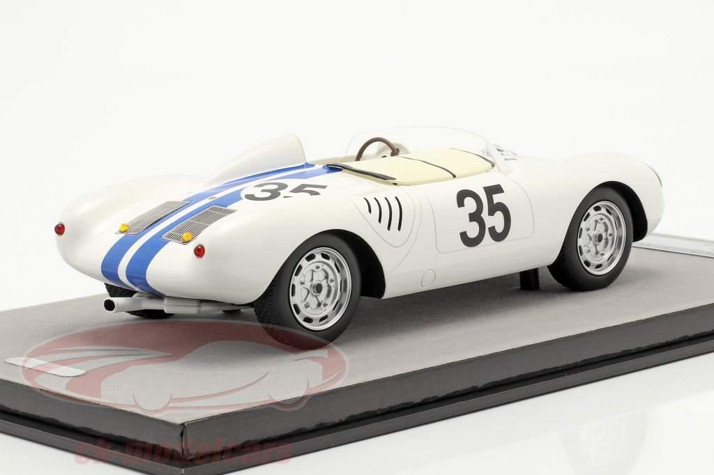 Porsche 550A RS #35 8ème 24h LeMans 1957 Hugus, de Beaufort 1:18 Tecnomodel