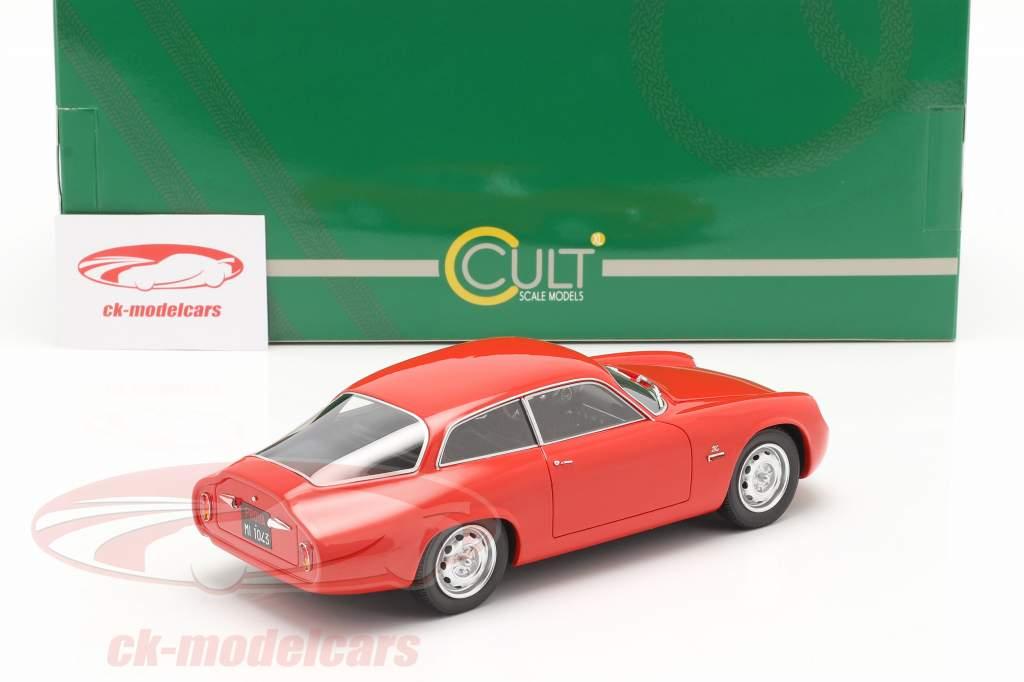 Alfa Romeo Giulietta Sprint Zagato Coda Tronca 1961 red 1:18 Cult Scale
