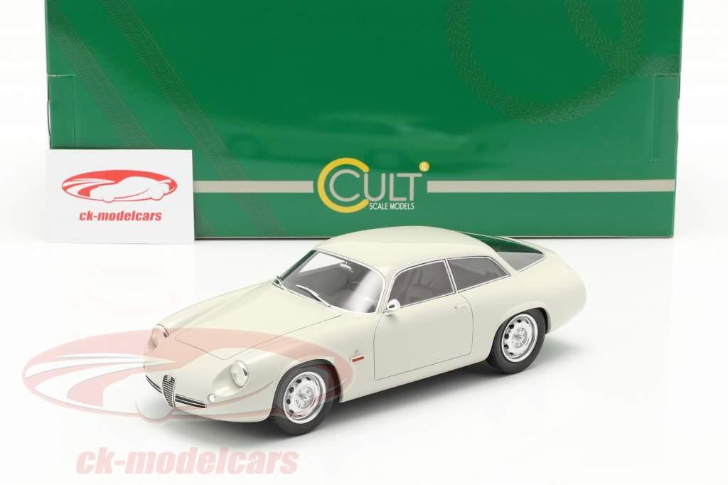 Alfa Romeo Giulietta Sprint Zagato Coda Tronca 1961 blanc 1:18 Cult Scale
