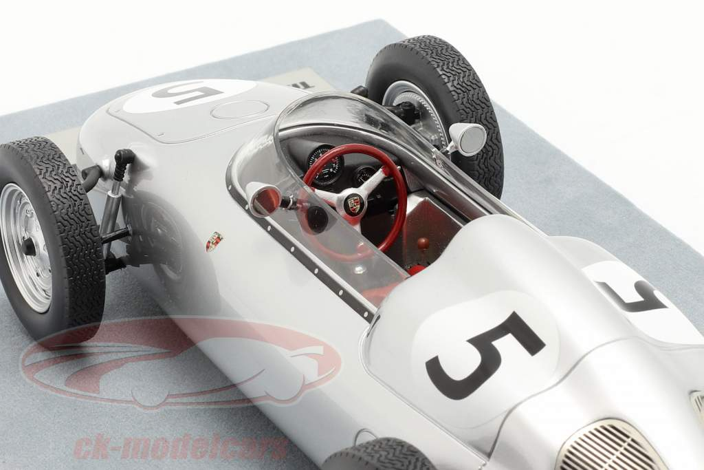 Hans Herrmann Porsche 718/2 #5 2e Solitude GP formule 2 1960 1:18 Tecnomodel