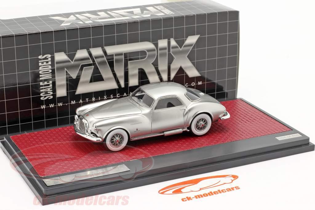 DeSoto Adventurer 1 Ghia Anno di costruzione 1953 argento metallico 1:43 Matrix