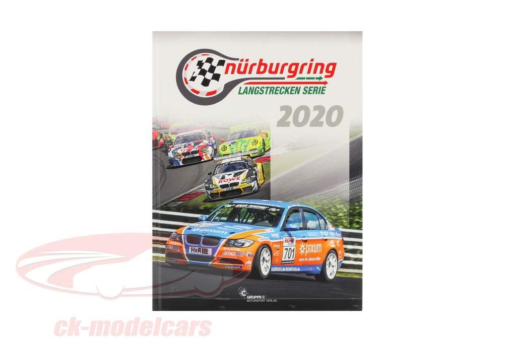 Libro: Nürburgring Serie de larga distancia 2020 (Grupo C Automovilismo Compañia de publicidad)