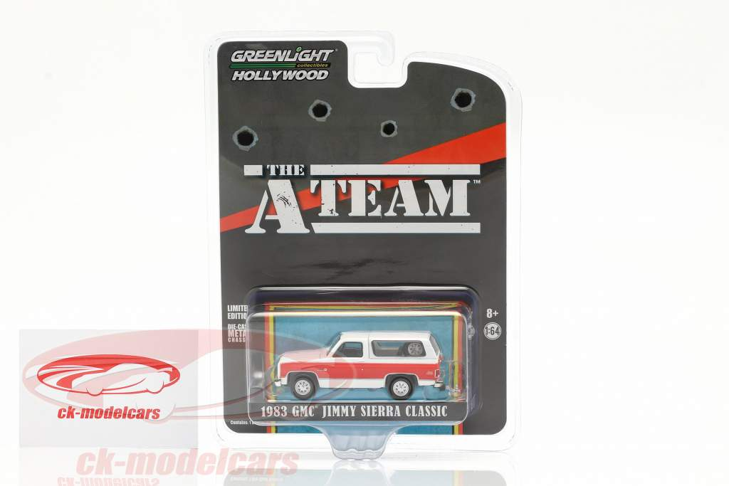 GMC Jimmy Sierra Classic 1983 TV-Serie Das A-Team (1983-87) 1:64 Greenlight