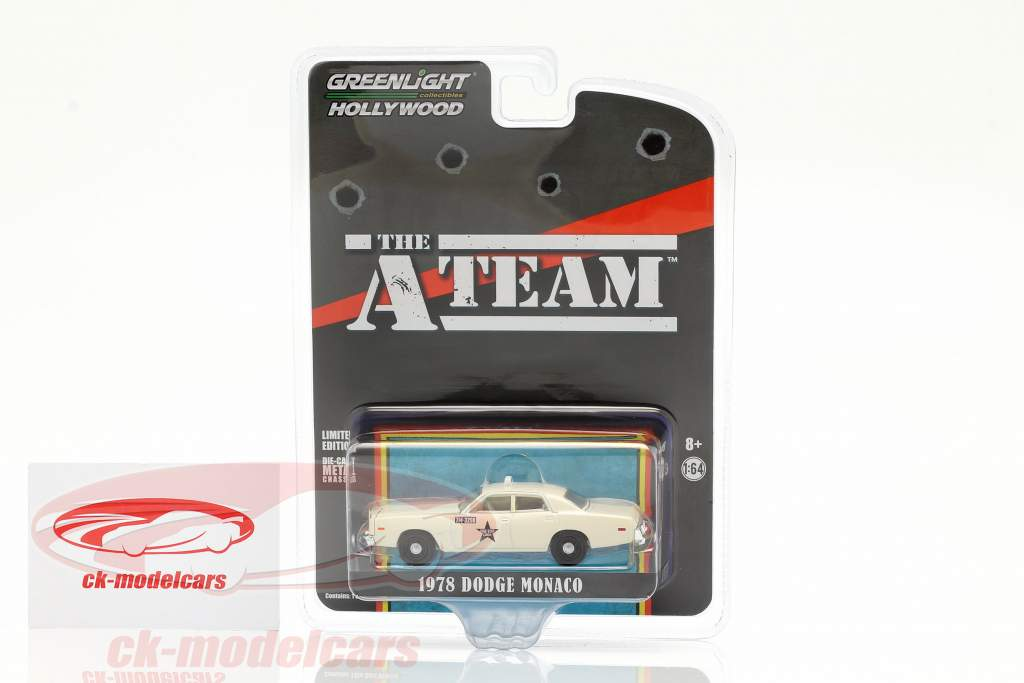 Dodge Monaco Taxi 1978 TV-Serie Das A-Team (1983-87) 1:64 Greenlight