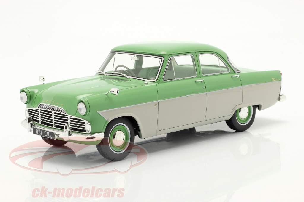 Ford Zodiac 206E Anno di costruzione 1957 luce verde / beige 1:18 Cult Scale