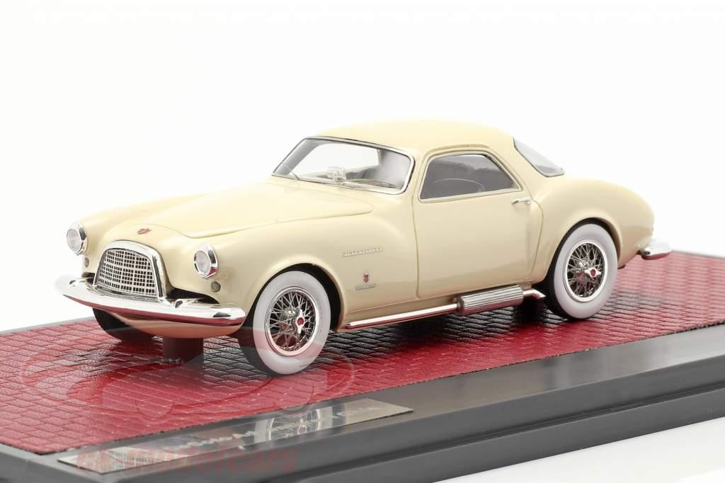 DeSoto Adventurer 1 Ghia year 1953 cream white 1:43 Matrix