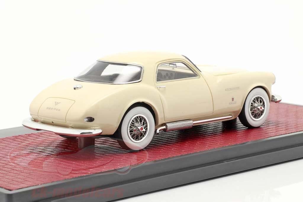 DeSoto Adventurer 1 Ghia Baujahr 1953 creme weiß 1:43 Matrix