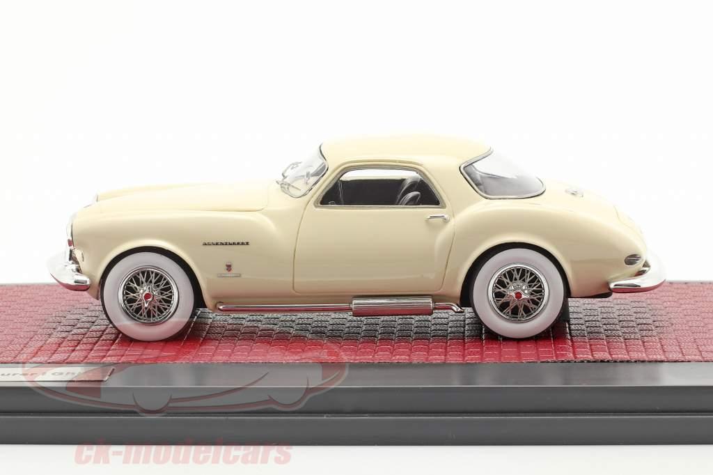 DeSoto Adventurer 1 Ghia Byggeår 1953 fløde hvid 1:43 Matrix