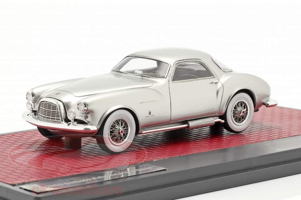 DeSoto Adventurer 1 Ghia Año de construcción 1953 plata metálico 1:43 Matrix