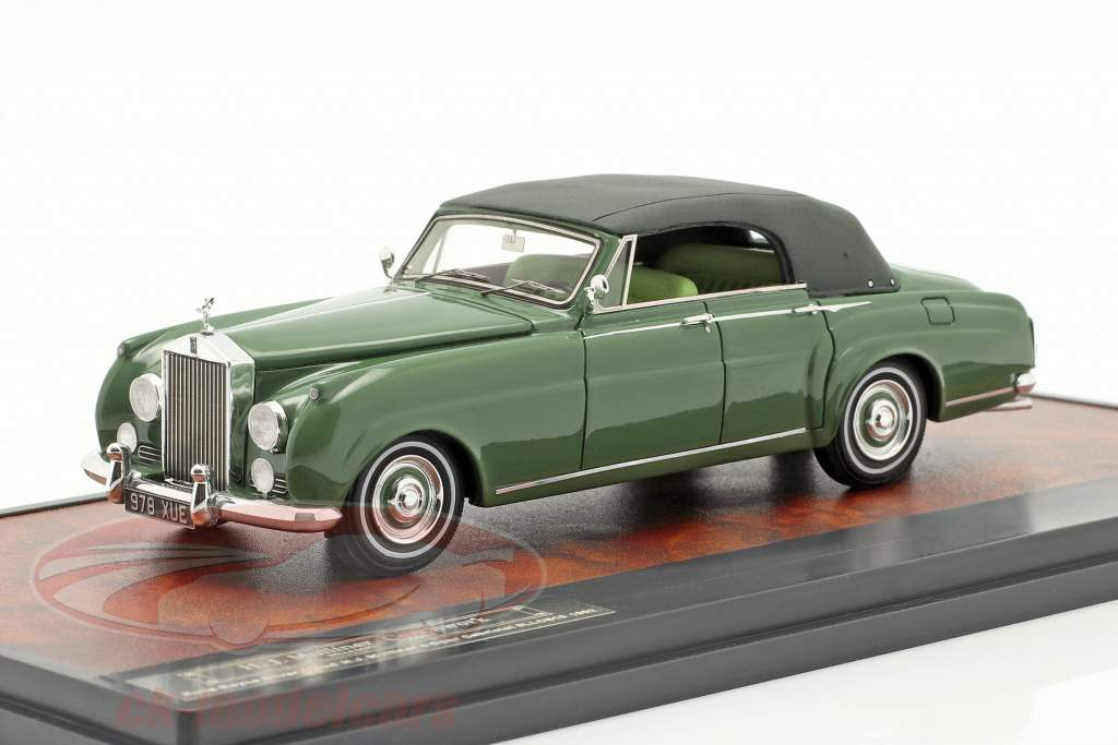 Rolls Royce Silver Cloud Mulliner 4-Door Closed Cabriolet 1962 grün 1:43 Matrix