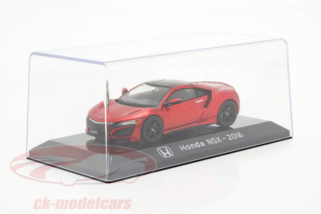 Honda NSX Año de construcción 2016 rojo metálico 1:43 Altaya