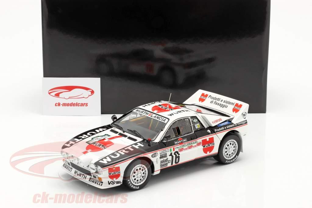 Lancia 037 Rally #16 3. Rallye Costa Smeralda 1983 Cunico, Bartolich 1:18 Kyosho