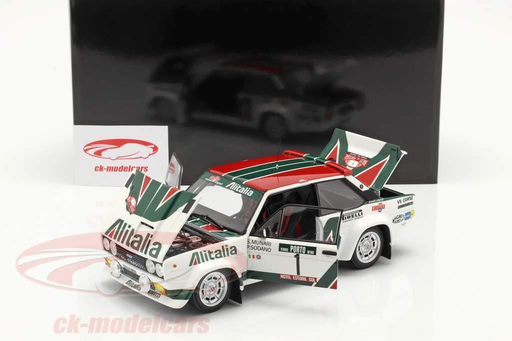 Fiat 131 Abarth #1 Rallye Portogallo 1978 Munari, Sodano 1:18 Kyosho