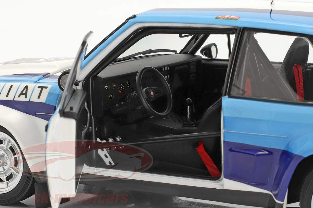 Fiat 131 Abarth #5 vinder Rallye Portugal 1980 Röhrl, Geistdörfer 1:18 Kyosho