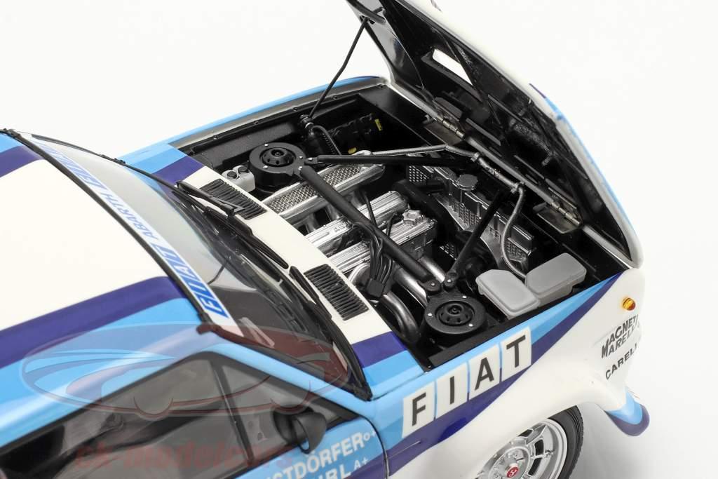 Fiat 131 Abarth #5 gagnant Rallye le Portugal 1980 Röhrl, Geistdörfer 1:18 Kyosho