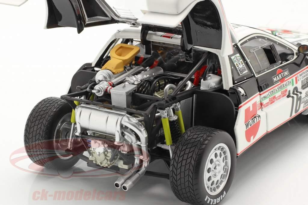 Lancia 037 Rally #16 3e Rallye Costa Smeralda 1983 Cunico, Bartolich 1:18 Kyosho
