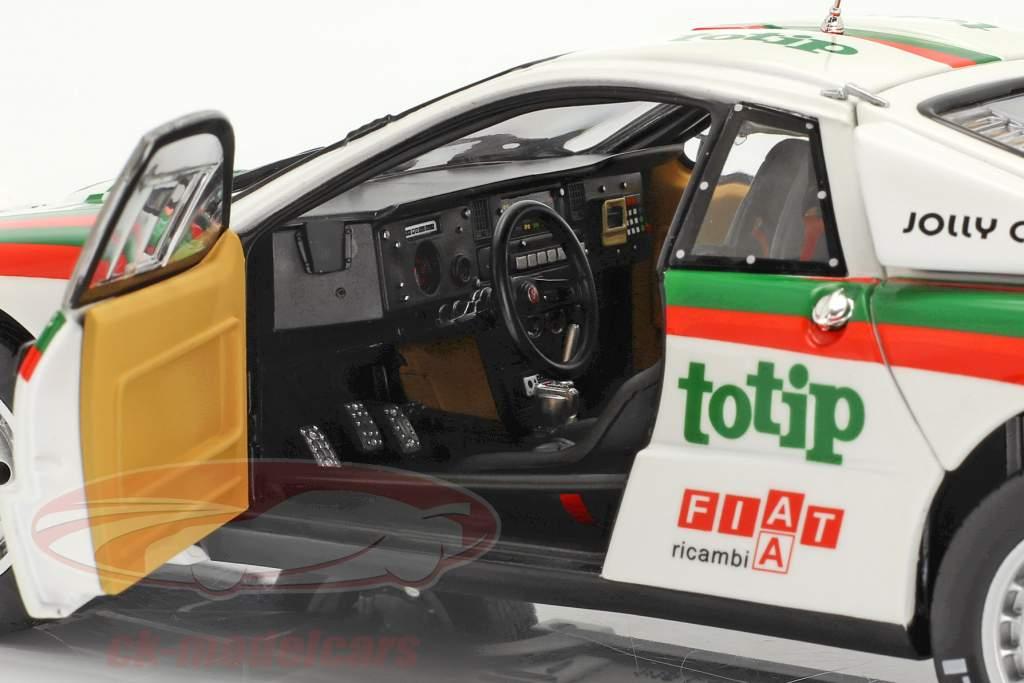 Lancia 037 Rally #18 Quinto Rallye SanRemo 1983 Biasion, Siviero 1:18 Kyosho