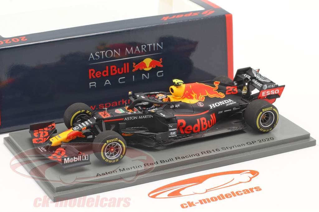 Alexander Albon Red Bull Racing RB16 #23 4. plads Steiermark GP formel 1 2020 1:43 Spark