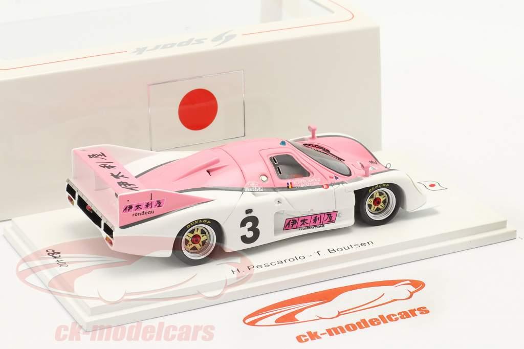 Rondeau M382 #3 6h Fuji 1982 Pescarolo, Boutsen 1:43 Spark