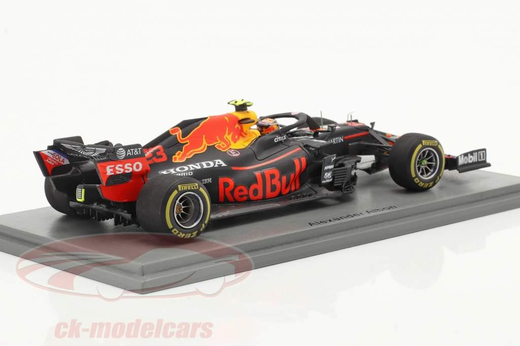 A. Albon Red Bull Racing RB16 #23 4th Steiermark GP Formel 1 2020 1:43 Spark