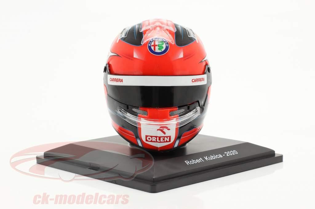 Robert Kubica #88 Alfa Romeo Racing Orlen Formel 1 2020 Helm 1:5 Spark
