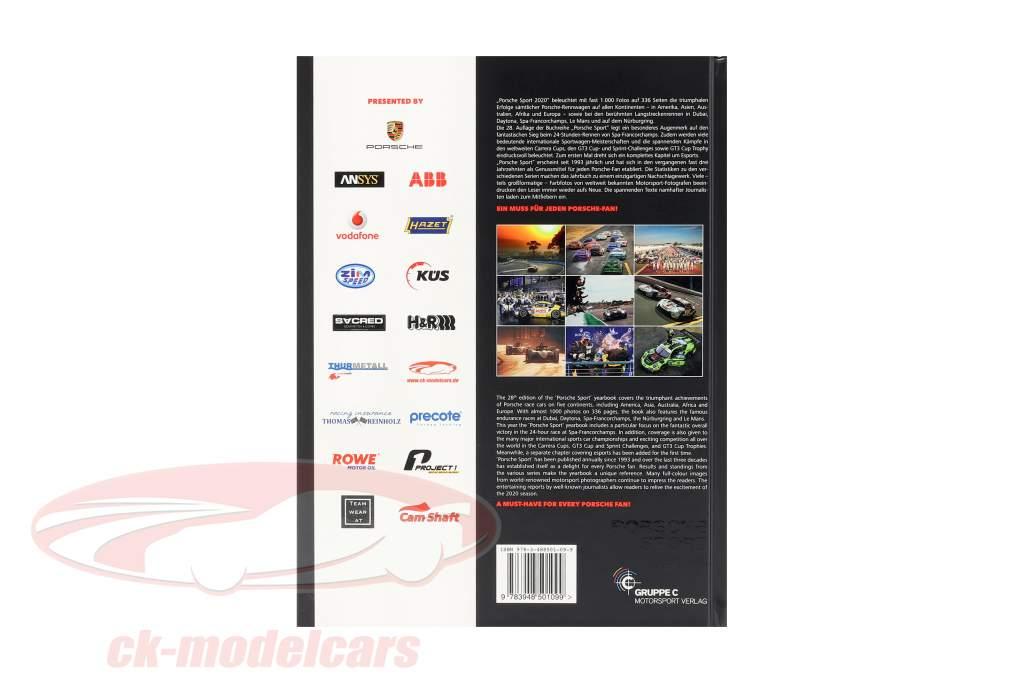Bestil Porsche Sport 2020 (Gruppe C Motorsport Verlag)