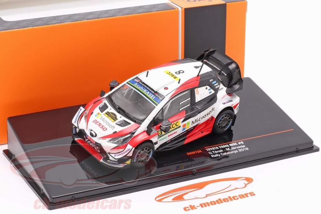 Toyota Yaris WRC #8 2nd Rallye Catalunya World Champion 2019 Tänak, Järveoja 1:43 Ixo