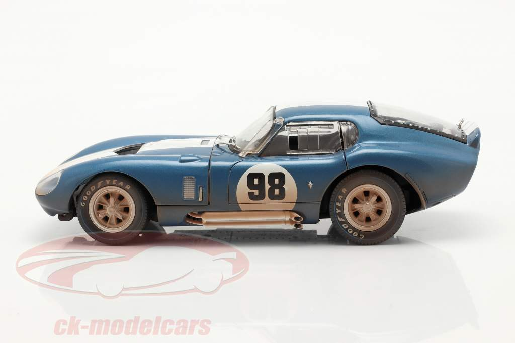 Shelby Cobra Daytona Coupe #98 1965 Dirty Version 1:18 ShelbyCollectibles