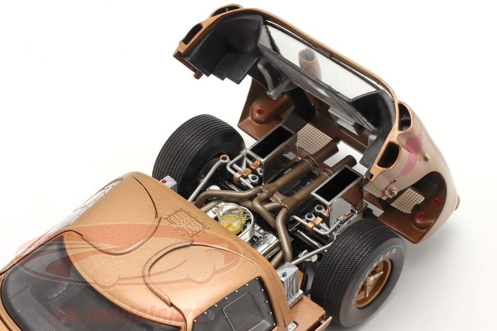 Ford GT40 MK II #5 3ª 24h LeMans 1966 Dirty Version 1:18 ShelbyCollectibles