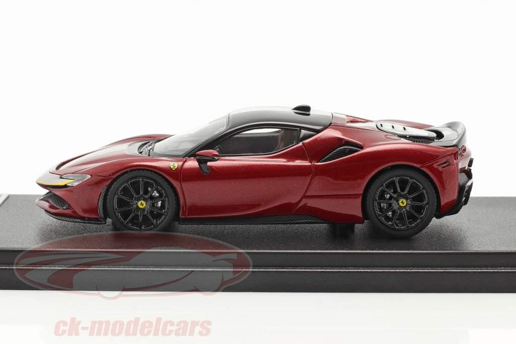 Ferrari SF90 Stradale Ano de construção 2019 fiorano vermelho / Preto 1:43 LookSmart