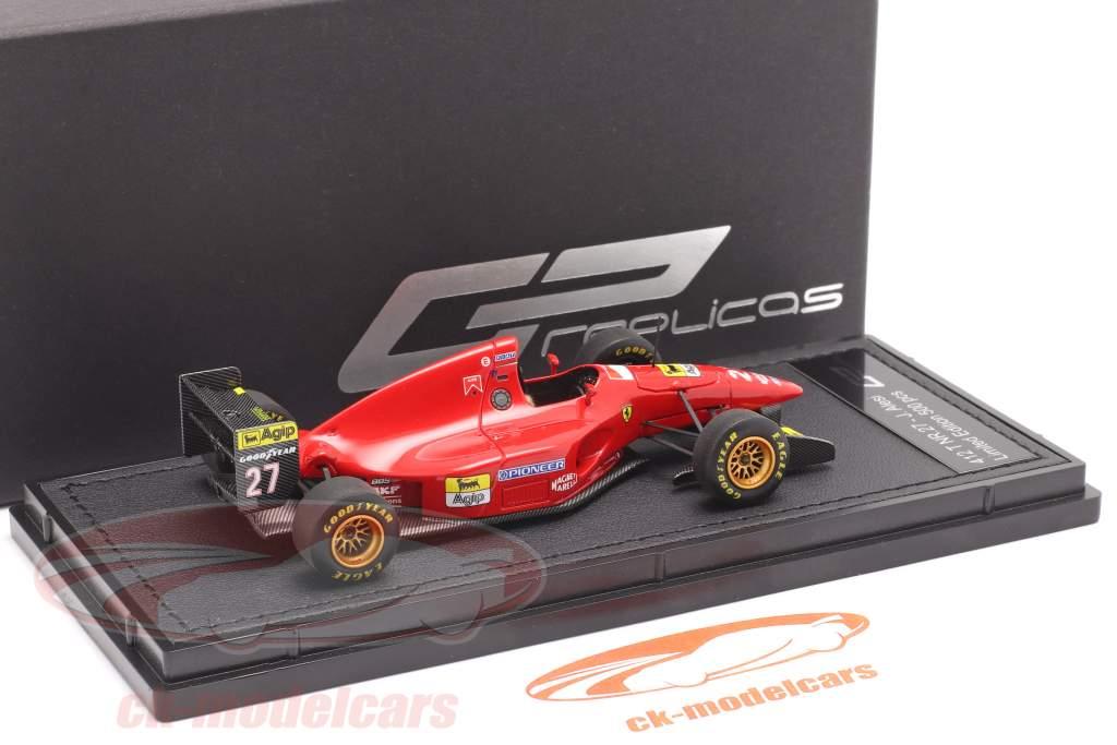 Jean Alesi Ferrari 412T1 #27 formula 1 1994 1:43 GP Replicas