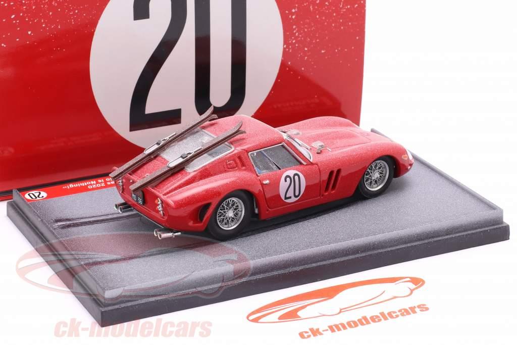 Ferrari 250 GTO #20 1962 Christmas Edition 2020 1:43 Brumm