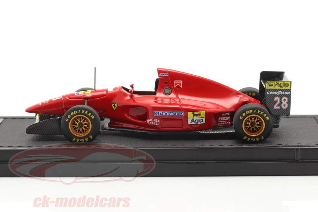 Gerhard Berger Ferrari 412T1 #28 formel 1 1994 1:43 GP Replicas