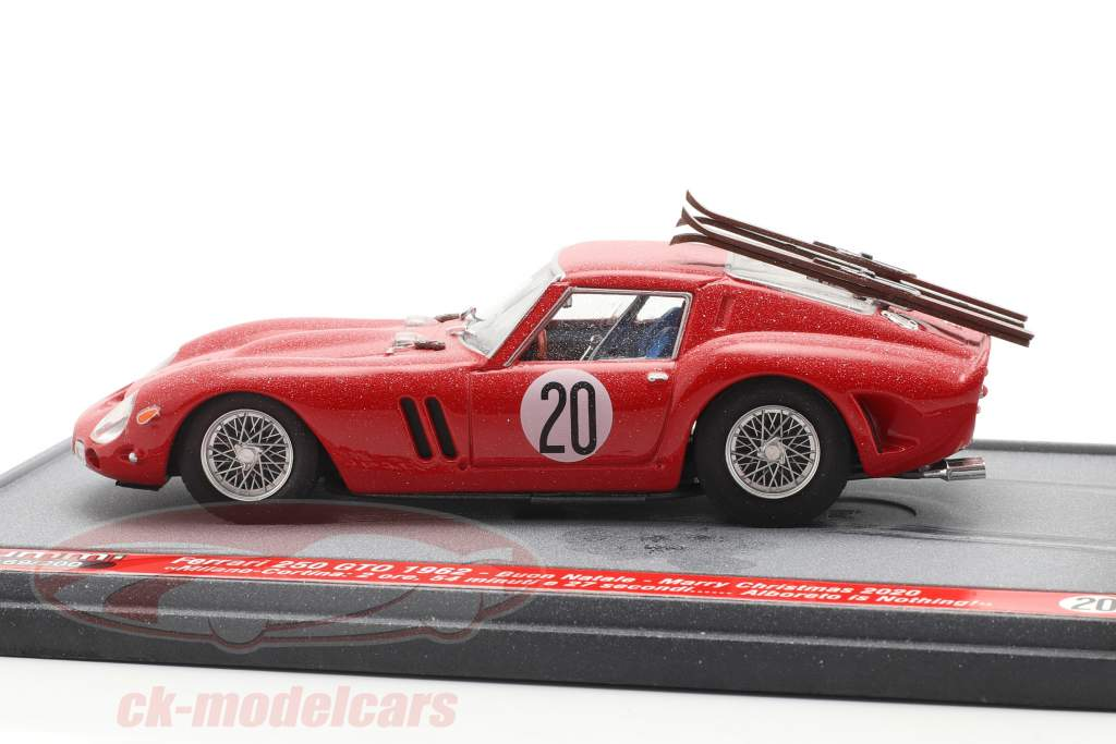 Ferrari 250 GTO #20 1962 Kerstmis- Editie 2020 1:43 Brumm