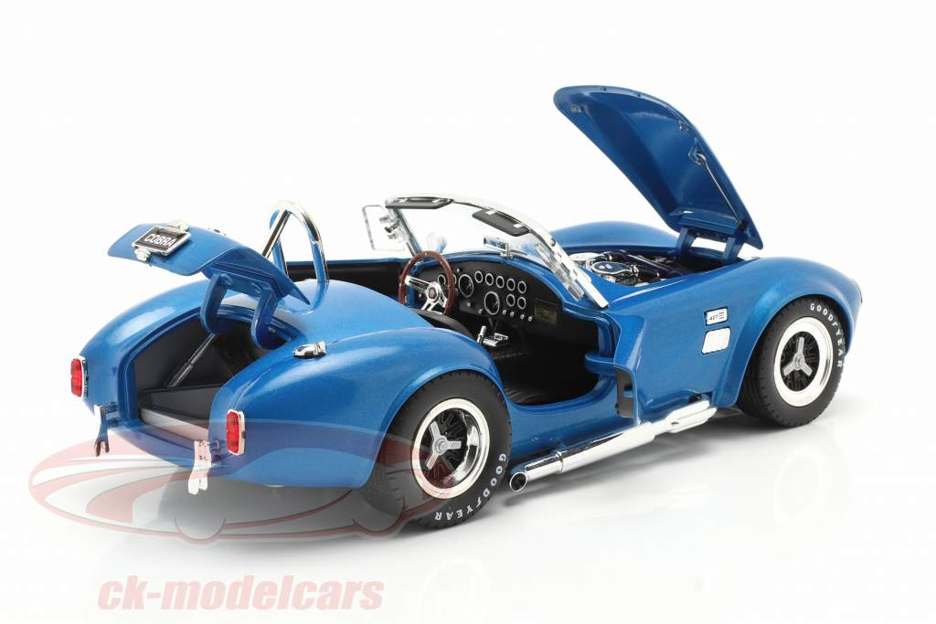 Shelby Cobra 427 Super Snake Year 1966 blue 1:18 ShelbyCollectibles