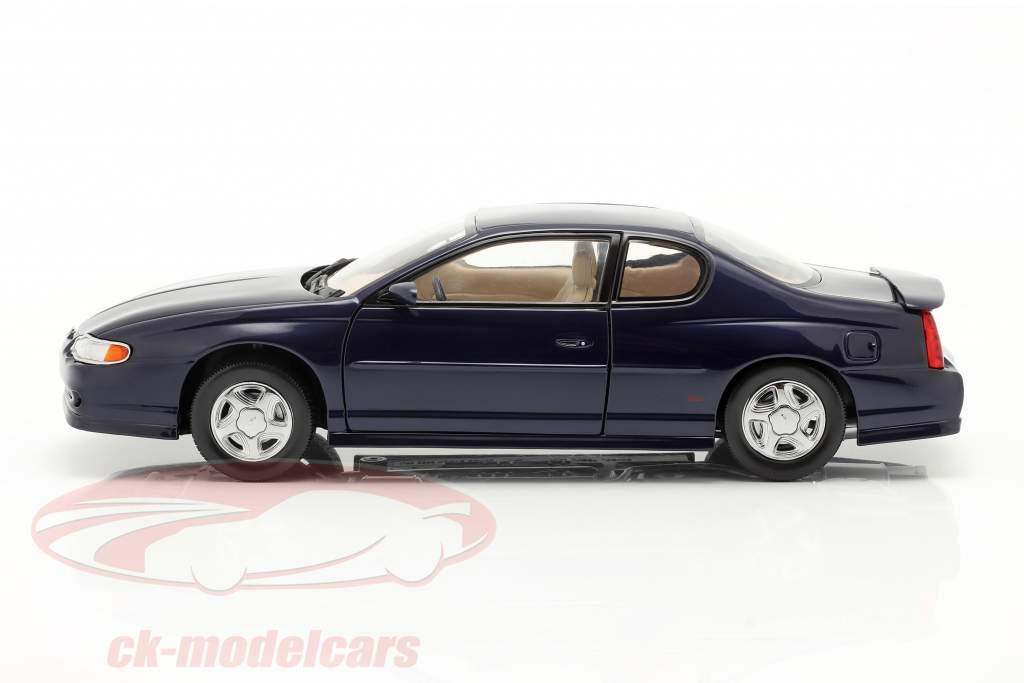 Chevrolet Monte Carlo SS Anno di costruzione 2000 navy blu 1:18 SunStar