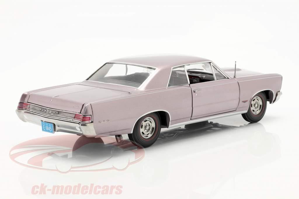 Pontiac GTO year 1965 gray-violet metallic 1:18 SunStar