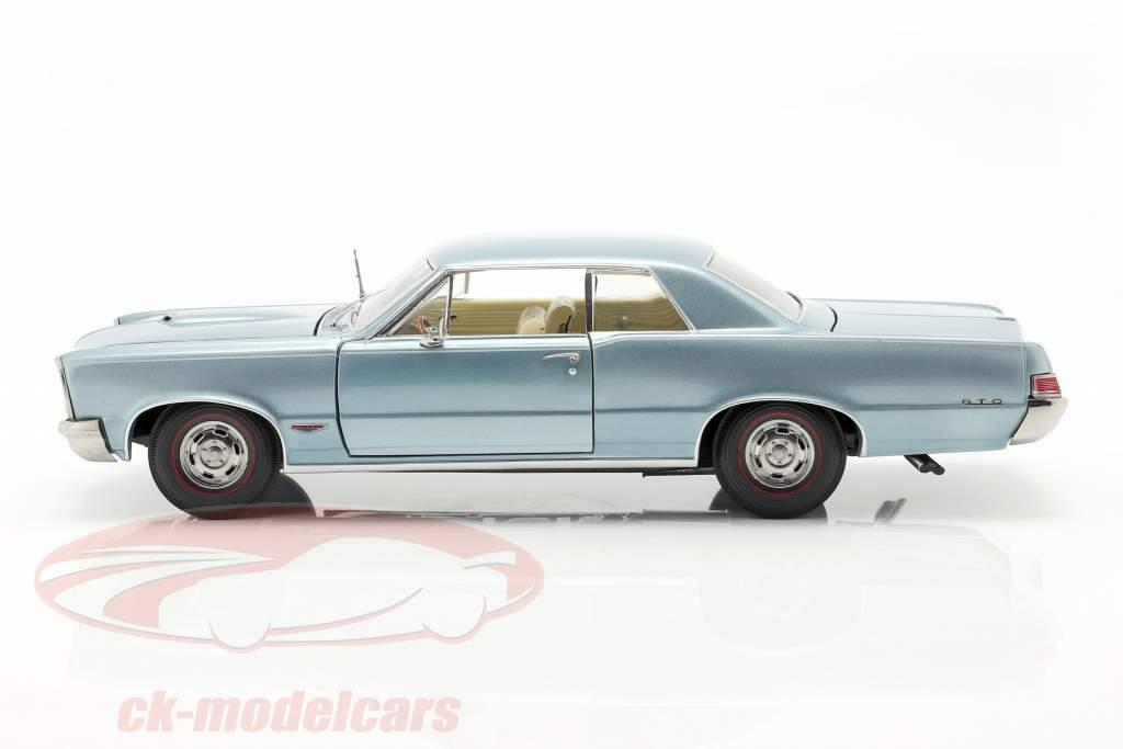 Pontiac GTO costruita nel 1965 in ardesia bluemist 1:18 SunStar