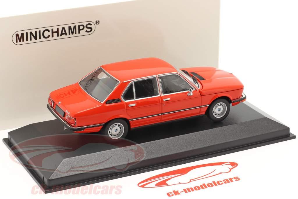 BMW 520 Año de construcción 1974 phoenix rojo 1:43 Minichamps