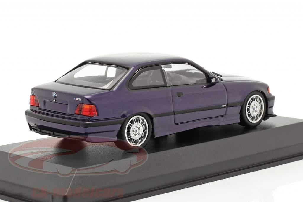 BMW M3 (E36) year 1992 techno violet 1:43 Minichamps