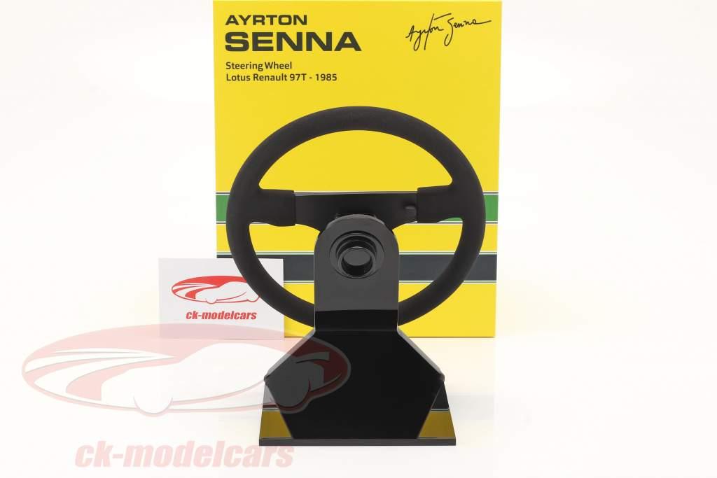 Ayrton Senna Lotus 97T #12 formule 1 1985 stuur 1:2 Minichamps