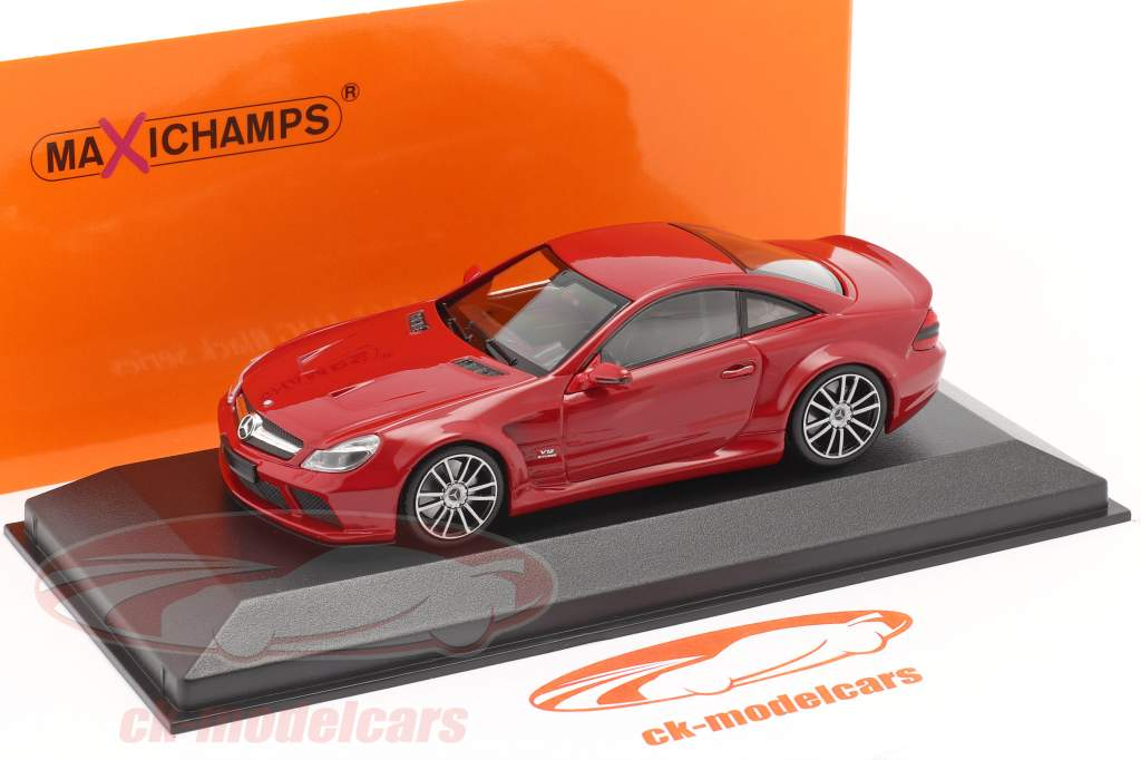 Mercedes-Benz SL65 AMG Black Series (R230) 2009 rosso 1:43 Minichamps