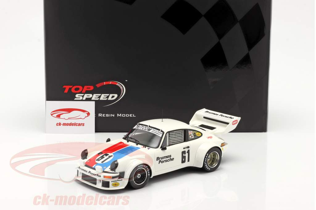 Porsche 934/5 #61 Tercero 12h Sebring 1977 Brumos Racing 1:18 TrueScale
