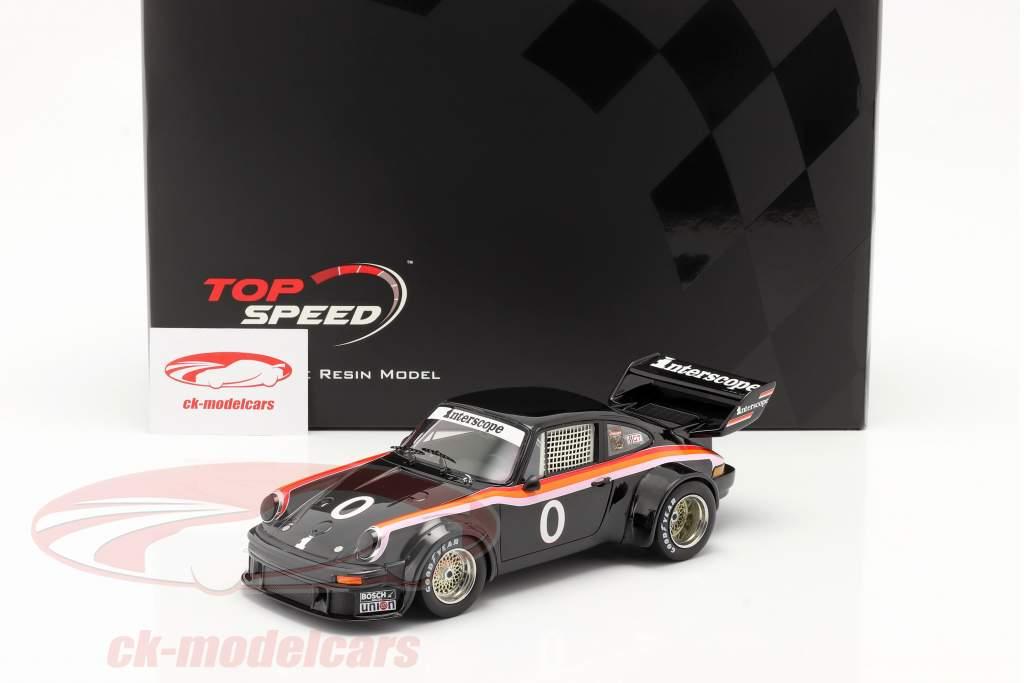 Porsche 934/5 #0 Vincitore 100 Miles Laguna Seca IMSA 1977 1:18 TrueScale