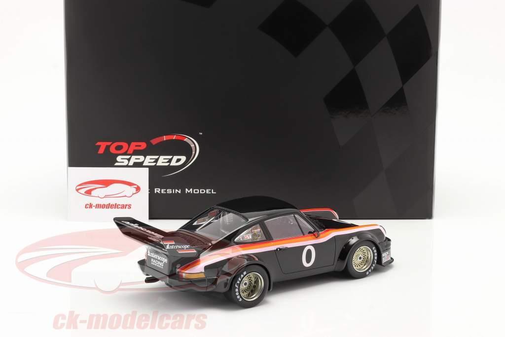 Porsche 934/5 #0 Gagnant 100 Miles Laguna Seca IMSA 1977 1:18 TrueScale