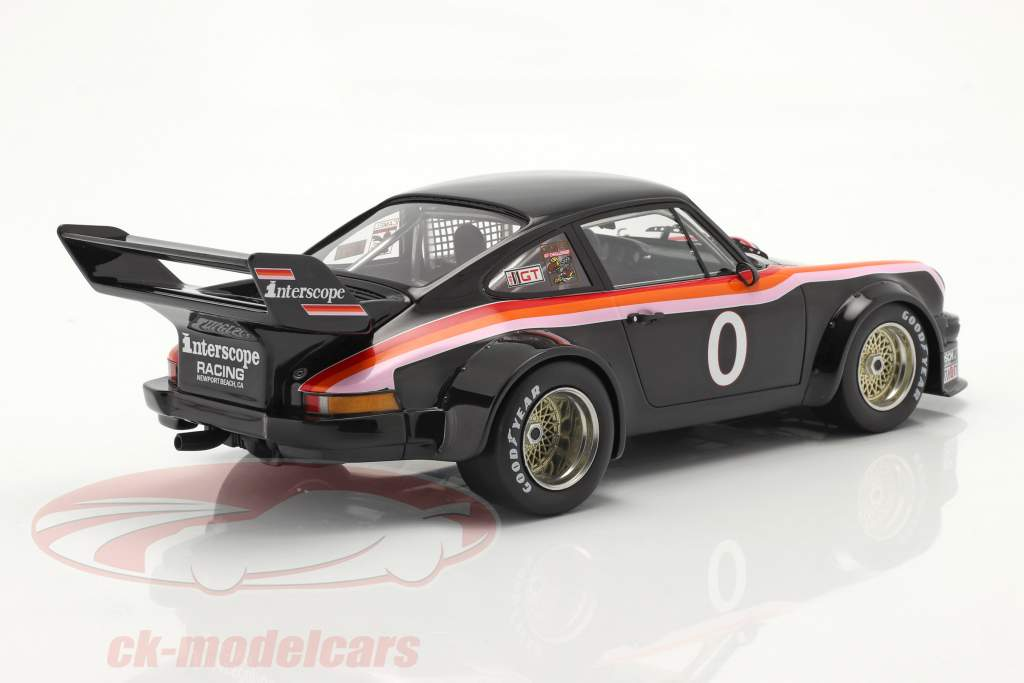 Porsche 934/5 #0 Ganador 100 Miles Laguna Seca IMSA 1977 1:18 TrueScale
