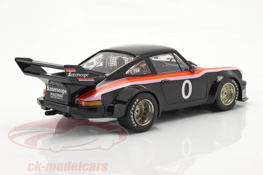 Porsche 934/5 #0 Vencedora 100 Miles Laguna Seca IMSA 1977 1:18 TrueScale